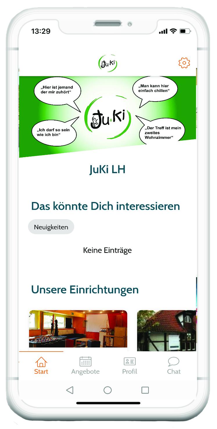 JuKi App Smartphone